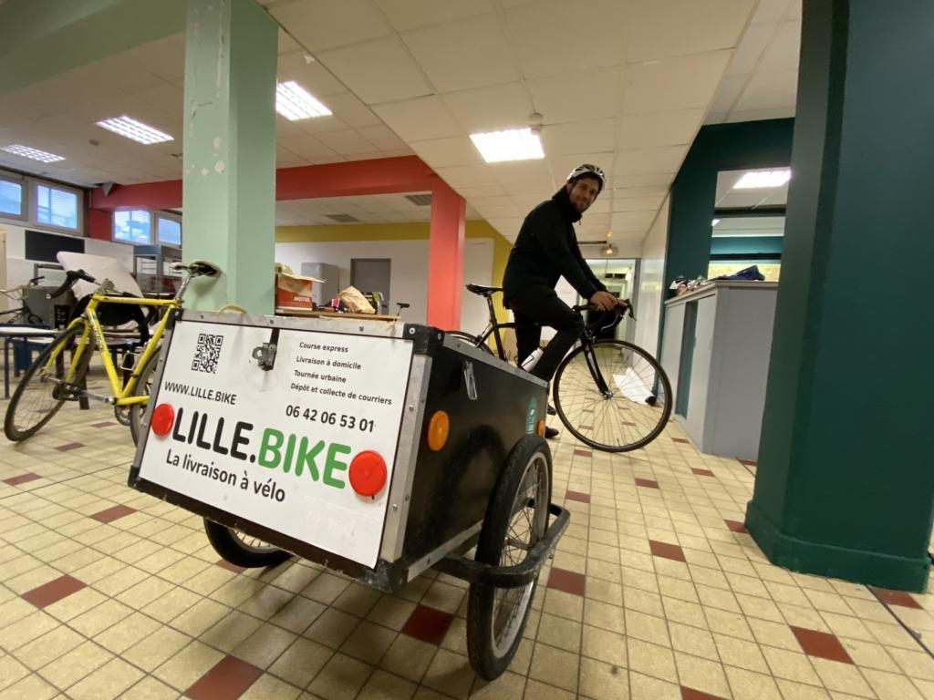 La plateforme coopérative Lille.Bike se lance dans la livraison de